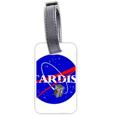 Tardis Nasa Parody Luggage Tags (one Side)