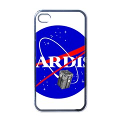Tardis Nasa Parody Apple Iphone 4 Case (black) by Samandel