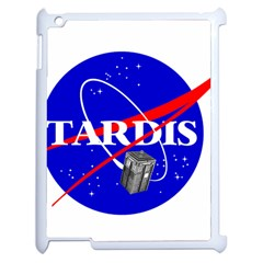 Tardis Nasa Parody Apple Ipad 2 Case (white) by Samandel