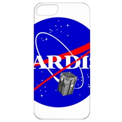 Tardis Nasa Parody Apple Iphone 5 Classic Hardshell Case by Samandel