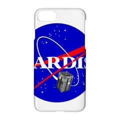 Tardis Nasa Parody Apple Iphone 7 Hardshell Case by Samandel