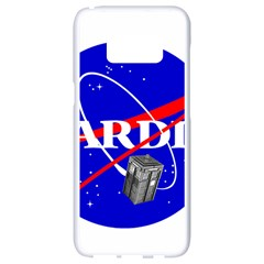 Tardis Nasa Parody Samsung Galaxy S8 White Seamless Case by Samandel