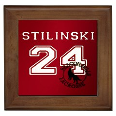 Stilinski Teen Wolf Beacon Hills Lacrosse Framed Tiles