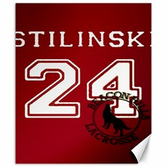 Stilinski Teen Wolf Beacon Hills Lacrosse Canvas 20  X 24