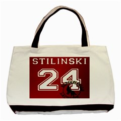 Stilinski Teen Wolf Beacon Hills Lacrosse Basic Tote Bag (two Sides) by Samandel