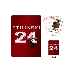 Stilinski Teen Wolf Beacon Hills Lacrosse Playing Cards (mini)  by Samandel