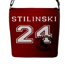 Stilinski Teen Wolf Beacon Hills Lacrosse Flap Messenger Bag (l)