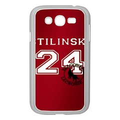 Stilinski Teen Wolf Beacon Hills Lacrosse Samsung Galaxy Grand Duos I9082 Case (white)