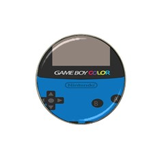 Game Boy Colour Blue Hat Clip Ball Marker