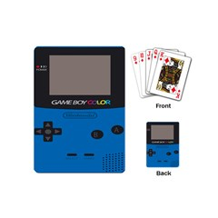 Game Boy Colour Blue Playing Cards (mini)