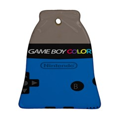 Game Boy Colour Blue Bell Ornament (two Sides) by Samandel