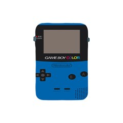 Game Boy Colour Blue Apple Ipad Mini Protective Soft Cases by Samandel