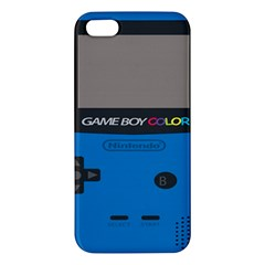 Game Boy Colour Blue Iphone 5s/ Se Premium Hardshell Case