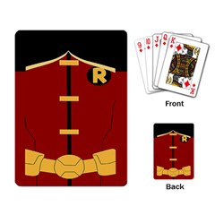 Robin Body Costume Playing Card by Samandel