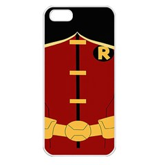 Robin Body Costume Apple Iphone 5 Seamless Case (white) by Samandel