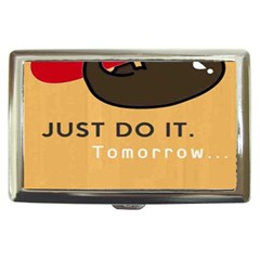 Sloth Just Do It Tomorrow Cigarette Money Cases by Samandel