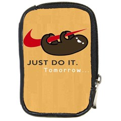 Sloth Just Do It Tomorrow Compact Camera Cases