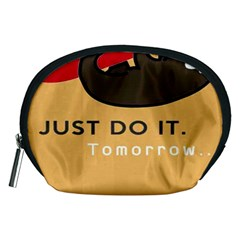 Sloth Just Do It Tomorrow Accessory Pouches (medium)  by Samandel