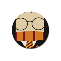 Harry Potter Cartoon Magnet 3  (round) by Samandel