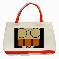 Harry Potter Cartoon Classic Tote Bag (red)