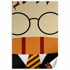 Harry Potter Cartoon Canvas 12  X 18