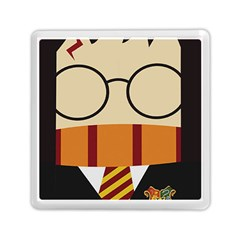 Harry Potter Cartoon Memory Card Reader (square)  by Samandel