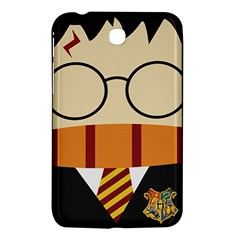 Harry Potter Cartoon Samsung Galaxy Tab 3 (7 ) P3200 Hardshell Case  by Samandel