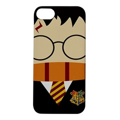 Harry Potter Cartoon Apple Iphone 5s/ Se Hardshell Case by Samandel