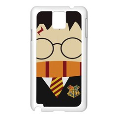 Harry Potter Cartoon Samsung Galaxy Note 3 N9005 Case (white) by Samandel