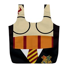 Harry Potter Cartoon Full Print Recycle Bags (l)