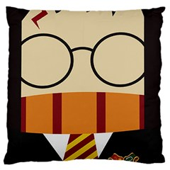 Harry Potter Cartoon Standard Flano Cushion Case (one Side) by Samandel