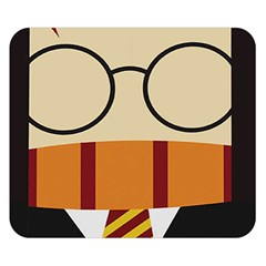 Harry Potter Cartoon Double Sided Flano Blanket (small)  by Samandel