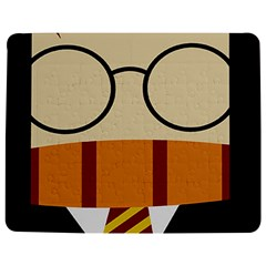 Harry Potter Cartoon Jigsaw Puzzle Photo Stand (rectangular) by Samandel