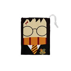 Harry Potter Cartoon Drawstring Pouches (xs)  by Samandel