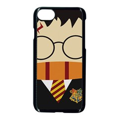 Harry Potter Cartoon Apple Iphone 8 Seamless Case (black) by Samandel