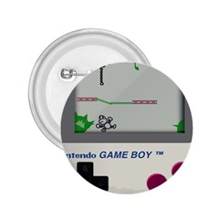 Game Boy White 2 25  Buttons by Samandel