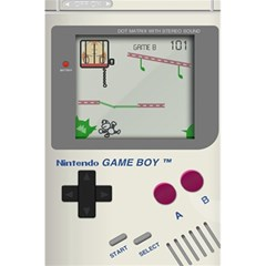Game Boy White 5 5  X 8 5  Notebooks by Samandel