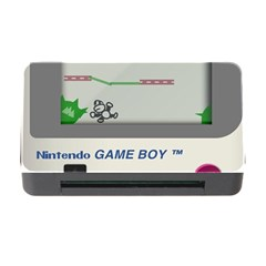 Game Boy White Memory Card Reader With Cf