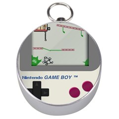Game Boy White Silver Compasses by Samandel
