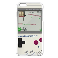 Game Boy White Apple Iphone 6 Plus/6s Plus Enamel White Case by Samandel