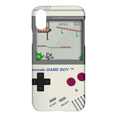 Game Boy White Apple Iphone X Hardshell Case