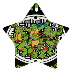 Teenage Mutant Ninja Turtles Hero Ornament (star)