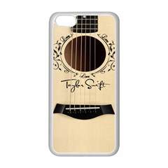 Classic Vintage Guitar Apple Iphone 5c Seamless Case (white)
