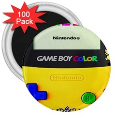 Game Boy Yellow 3  Magnets (100 Pack)