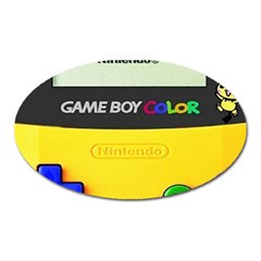 Game Boy Yellow Oval Magnet