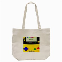 Game Boy Yellow Tote Bag (cream) by Samandel