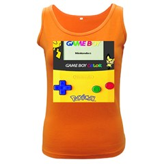Game Boy Yellow Women s Dark Tank Top by Samandel