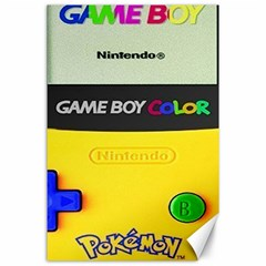 Game Boy Yellow Canvas 24  X 36
