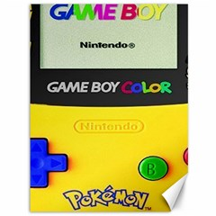 Game Boy Yellow Canvas 36  X 48
