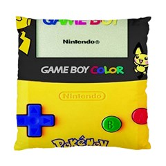 Game Boy Yellow Standard Cushion Case (two Sides) by Samandel